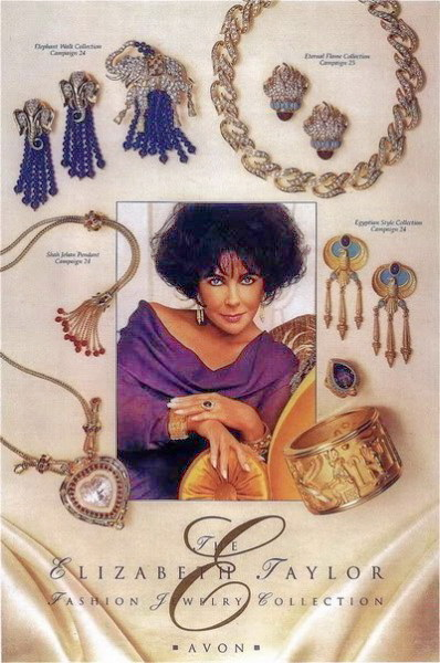 ELIZABETH TAYLOR FOR AVON