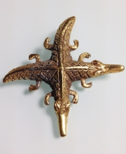 Винтажная брошь ''Joined Crocodile Brooch'' Museum Reproductions